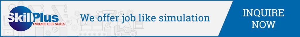 We offer job like simulation-Skillplus India
