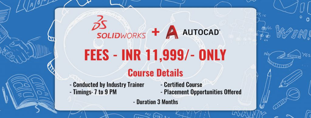 training of Solidworks and AutoCAD
